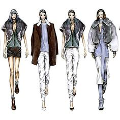 Learn how to draw and design for different fashion markets! Link in bio✨