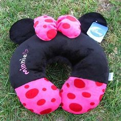 Mickey's girlfriend Minnie Mouse U shaped pillow neck for Car Airplane travel $16.5 free shipping