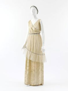 Poiret's silhouette is a far cry from other designers at the time who were very much depending on the waist-shirt and full skirts that followed the previous century's bustle style.    <3__<3