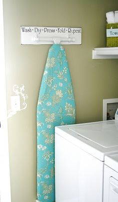 "Explore our internet site for more info on ""laundry room storage diy budget"". It is an excellent location to find out more. Interior Decorating Blog, Ironing Board Storage, Home Diy, Room Storage Diy, Small Laundry Room Organization, Diy Storage, Room Organization, Laundry Room Decor, Decorating On A Budget"