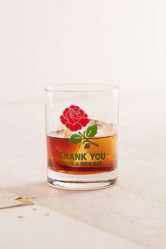 Chinatown Market For UO Thank You Lowball Glass   Urban Outfitters