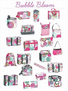 Thirty-One Gifts - LOVE Bubble Bloom! #ThirtyOneGifts #ThirtyOne mythirtyone.com/valerieland