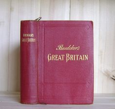 Baedeker's Great Britain 1927 Antique Travel by CrookedHouseBooks