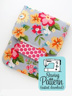 Sew a pouch perfect for making into a portable mending kit, using to store some of your smaller craft tools and notions, or. Cute Sewing Projects, Sewing Machine Projects, Sewing Hacks, Sewing Tutorials, Sewing Crafts, Sewing Diy, Sewing Ideas, Stitch Kit, Pick Stitch
