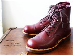 RED WING No.8012 IRON RANGE / Munson