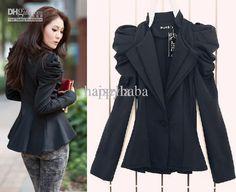 Fashion Women lady suit New Korean women Double breasted Suit slim ...
