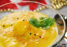 Crema de mango con gambas | Gastronomía & Cía