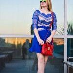 Cobalt blue dress Cobalt Blue Dress, Blue Dresses, Tops, Fashion, Moda, Fashion Styles, Fashion Illustrations