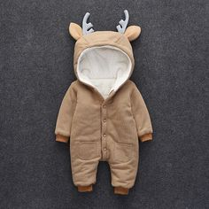 and baby clothes Victory! Check out my new Lovely Deer Fleece-lined Long Sleeve Jumpsuit for Baby, snagged at a crazy discounted price with the PatPat app. So Cute Baby, Baby Kind, Baby Love, Cute Babies, Mom Baby, Baby Outfits Newborn, Baby Boy Outfits, Pink Outfits, Baby Kids Clothes