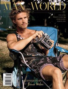 Unknown Model by Bruce Weber for the Man of the World Magazine Summer 2014 Issue # 8