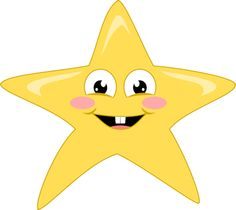 Free clipart, transparent background, png 300 dpi, cute baby star. Perfect for scrapbooking, card making, printable. Copyright free.
