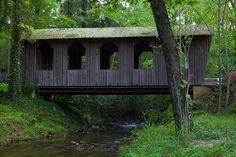Pool Creek Covered Bridge, Bottomless Pools Rd, Lake Lure, North Carolina