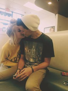 Cute Kiss ^_^cute couple tumblr couple tumble girl tumblr guy forever in love love together happiness