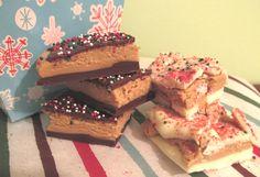 BUCKEYE BARK   The Stay At Work Housewife   Gluten free, no bake DIY Christmas cookie / treat idea