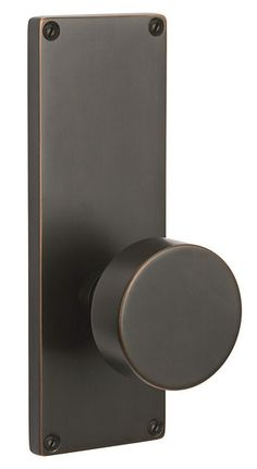 "Modern Non-keyed Style (7-1/2"") | Contemporary Locks | Sideplates | Emtek Products, Inc."