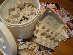 Papier Mache pulp making tutorial - inc making and saving
