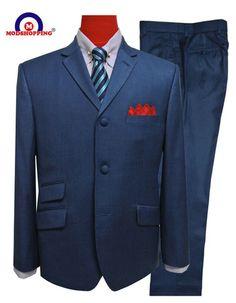 mod clothing tailored berry wedding suit for men,tailored slim fit men suit fashion button suit,mod suit Brown Suits For Men, Linen Suits For Men, Beige Suits, Blue Suit Men, Mens Suits Uk, Mens Tweed Suit, Mod Suits, 60s Mod Fashion, Fashion Men