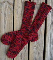 Strumpor stickade från tån och upp    även dessa sidor  http://www.wermland.nu/Stickning/Sock2.htm    http://www.wermland.nu/Stickning/sockor.htm