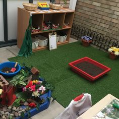 EYFS outside role-play (garden centre)
