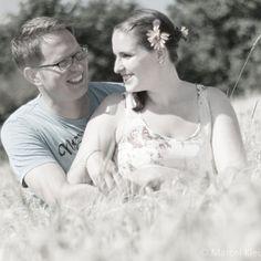Paashooting, Kornfeld, romantisches Fotoshooting
