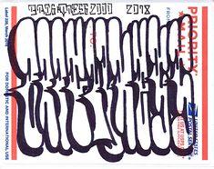 Priority mail USA Sticker art