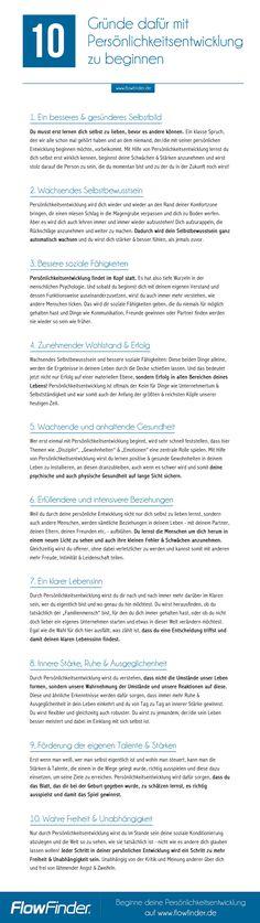 10 Gründe dafür mit Persönlichkeitsentwicklung zu beginnen