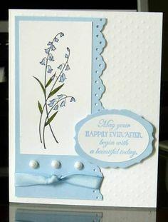 Wedding jem using Stampin Up Ever After