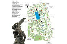 El Retiro de Madrid en sus planos: de jardín real a parque público   FronteraD