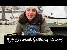 5 More Essential Sailing Knots And How To Use Them IN REAL LIFE! - YouTube ~ HOW TO TIE: (1) Zeppelin Bend (2) Constrictor Knot (3) Round Turn and Two Half Hitches (4) Rolling Hitch (5) Cleat Hitch ~This is a great video. The instruction is clear and easy to understand.