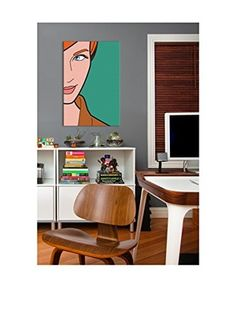 Madmen #3 Gallery-Wrapped Canvas Print (Multi)