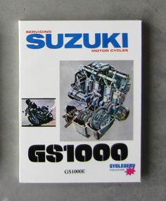 SUZUKI TS125 Workshop Parts List Manual for TS 125 Owners Service     SUZUKI GS1000 1979   Workshop Service Repair   FREE CD R Owners   Parts  Manual