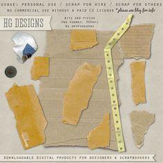 Scrapbooking TammyTags -- TT - Designer - HG Designs, TT - Item - Element, TT - Texture - Cardboard or Craft Paper