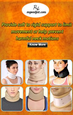 Cervical Traction Collar helps reduce intra-discal pressure within the  cervical spine