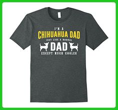 Mens I'm A Chihuahua Dad T shirt Large Dark Heather - Relatives and family shirts (*Amazon Partner-Link)