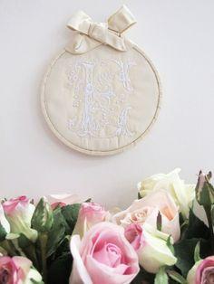 Monograms Machine Embroidery Designs