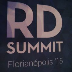 Estamos participando do RD Summit 2015! Maior evento de vendas e marketing digital do Brasil. #rdsummit #rdsummit2015