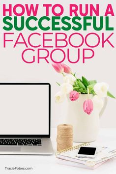 A Facebook group is a great way to grow a community and find the people who want to follow your site. But you want to make sure you create a group that will thrive and grow.  Find out everything you need to know about how to run a Facebook group.  #blogging #social #TF