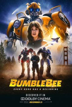 US-Poster zum Transformers-Spin-off Bumblebee - ab in den deutschen Kinos Transformers Film, Bumblebee Transformers, Bumblebee Bumblebee, Transformers Characters, 2018 Movies, Dc Movies, Movies Online, Good Movies, Movies Free