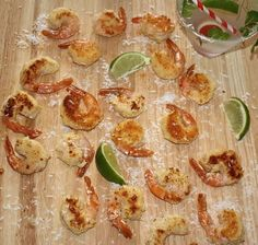 Coconut Lime Shrimp | Lauren Kelly Nutrition #glutenfree #lowcarb These are so easy to make and really delicious!