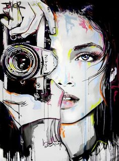 View LOUI JOVER's Artwork on Saatchi Art. Find art for sale at great prices from artists including Paintings, Photography, Sculpture, and Prints by Top Emerging Artists like LOUI JOVER. Camera Painting, Camera Art, Acrylic Painting Canvas, Canvas Art, Gouache Painting, Canvas Size, Canvas Prints, Pop Art, Newspaper Art