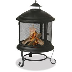 @Overstock.com - Blue Rhino 360-degree Bronze Round Firehouse - This well-constructed firehouse brings the warmth and comfort of a fireplace to any patio, deck, or poolside. The safety and versatility of this fully grate enclosed allows fires to burn away with peace of mind in virtually any application. http://www.overstock.com/Home-Garden/Blue-Rhino-360-degree-Bronze-Round-Firehouse/7011546/product.html?CID=214117 $108.99