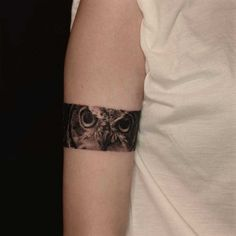 (via Owl Eyes Tattoo Armband | Best Tattoo Ideas Gallery)