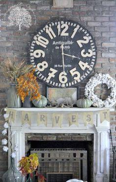 Autumn Cottage Mantel