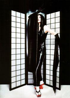 Madonna by Patrick Demarchelier ONE EYE ILLUMINATI PUPPET