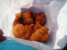 Clam Fritters from Flo's Clam Shack
