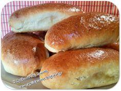 H απόλαυση της Βρώσης – ΑΣ ΜΑΓΕΙΡΕΨΟΥΜΕ - Συνταγές εύκολες και οικονομικές Hot Dog Buns, Hot Dogs, Hamburger, Bread, Food, Brot, Essen, Baking, Burgers