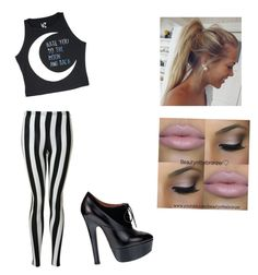 """""""School day"""" by blouw-isabelle ❤ liked on Polyvore"""