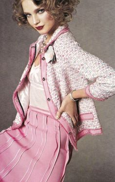Stunning pink Chanel suit