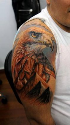 Eagle Tattoo Looking For the Perfect Tattoo? •See Here=>• http://www.creativetattoodesigns.com