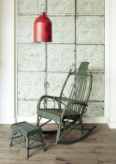 merci brooklyn tin tiles wallpaper tin 05 by lime lace   notonthehighstreet.com